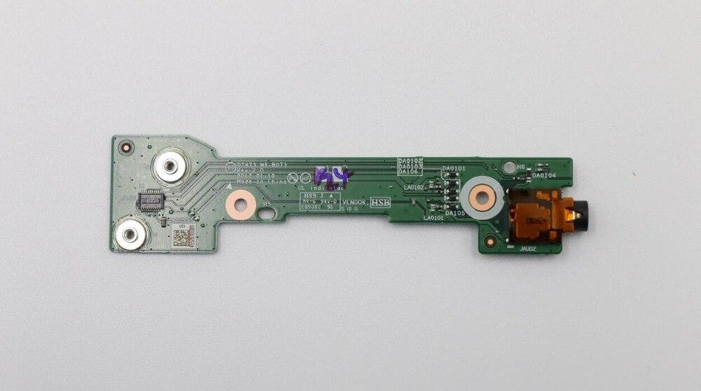 Novo para lenovo thinkpad t470p placa de áudio fru 01hw930