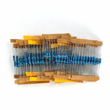 300PCS/LOT 1 Pack 10 -1M Ohm 1/2W Resistance 1% Metal Film Resistor Resistance Assortment Kit Set 30 Kinds Each 10pcs цена
