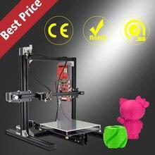 De alta Precisión de Gran Tamaño de Construcción 200*280*230mm Marco de Metal DIY Modelo de Prototipado rápido Profesional 3 D impresoras Impresora 3D