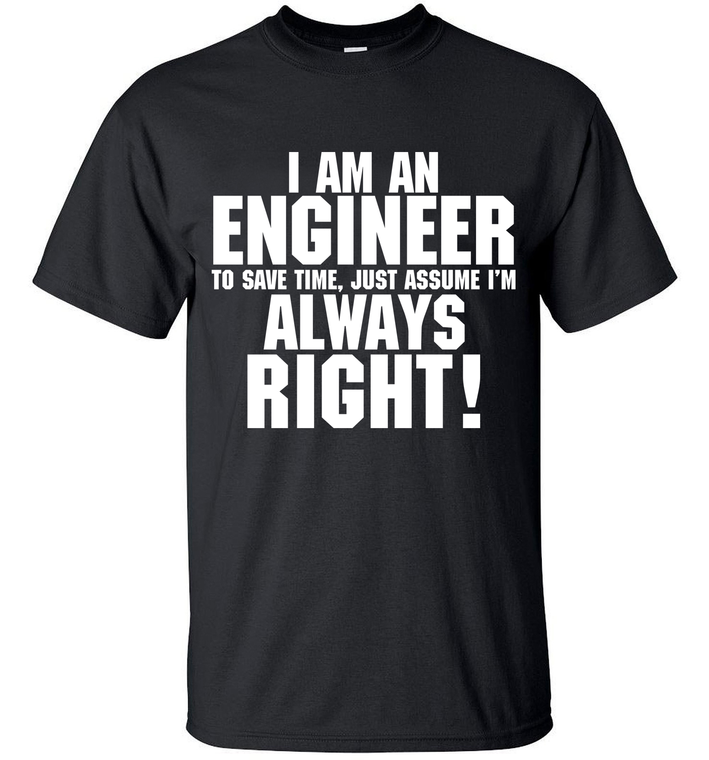 2019 funny TRUST ME I AM AN ENGINEER Fashion streetwear   T  -  Shirt   Mens   t     shirts   tops tees top brand slim clothing pp crossfit