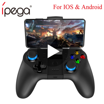 Bluetooth Gamepad Trigger Pubg Controller Mobile Joystick For Phone Android iPhone Smart TV Box Game Pad Console Control PC pabg trigger bluetooth joystick for phone cell pubg mobile controller gamepad game pad android iphone control free fire pc joistick