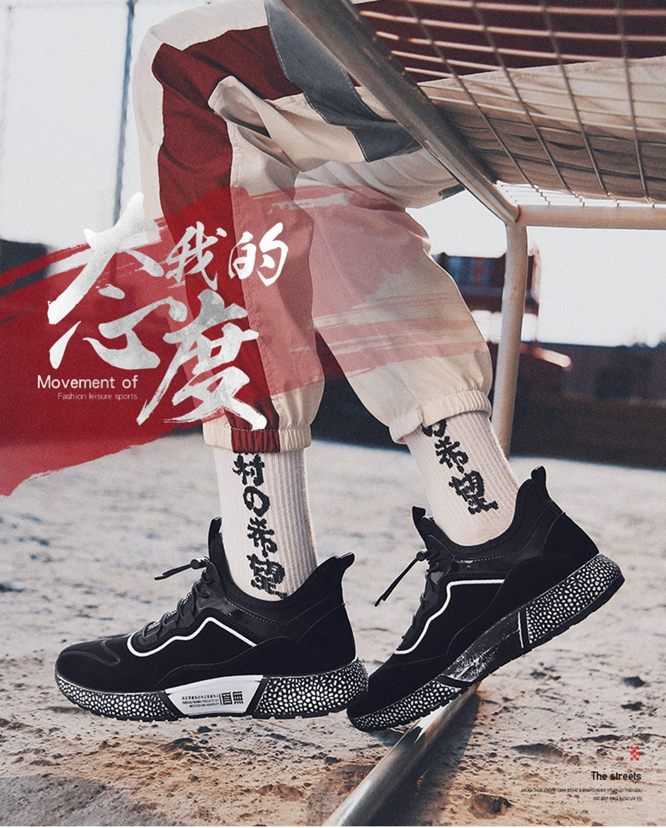 MUMUELI Gray Black Leather 2019 Designer Casual Breathable Shoes Men High Quality Fashion Luxury Ultra Boost Brand Sneakers L771 7