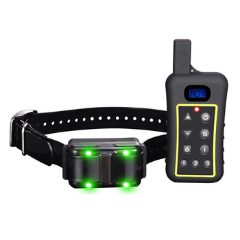 Hot Selling Eco Friendly Anti Bark Collar Remote dog pet Training Collar with 1200m range dog no bark collar for dogs