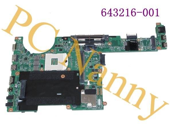 FOR HP ProBook 6360B * Intel Laptop Motherboard ** 643216-001 ** 48.4KT01.021