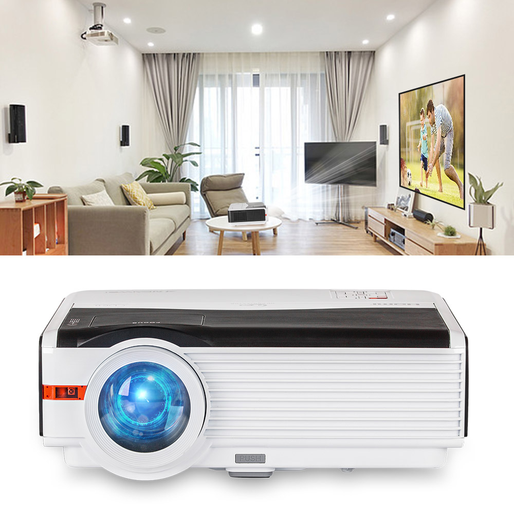 Caiwei Digital Led Projector Home Theater Beamer Lcd: CAIWEI Home Theater Projector LED LCD Proyector Full HD