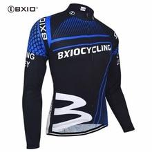 Bxio Winter Thermal Fleece Cycling Jersey Shirt Bike Jersey Pro Bike Team Warm Long Sleeves Autumn