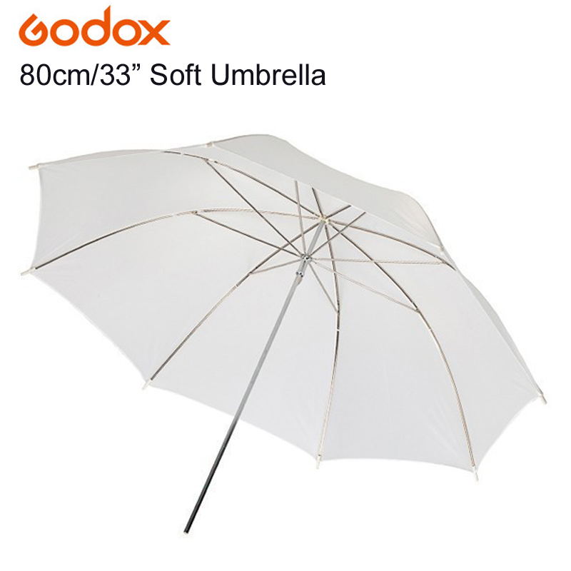 "GODOX 83cm 33"" Photography Photo Pro Studio Soft Translucent White Diffuser Umbrella For Studio Flash Lamp Lighting"