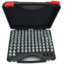 0,30-10,00 мм стальной штыревой Калибр 50 мм штыревой измерительный инструмент шаг 0,1 мм, 98 шт./лот