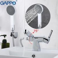 GAPPO Top bathroom shower faucets set Brass bathtub wall sink mixer waterfall faucet tap torneira grifo GA1204