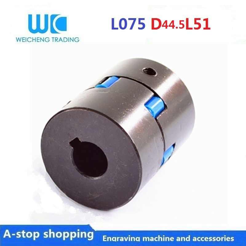 Bohrungsdurchmesser 25mm//35mm D1//D2 Aluminium-Oldham-Wellenkupplung