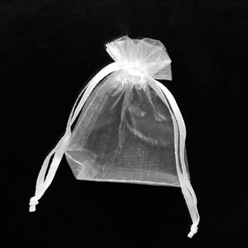 9x12cm organza pouch