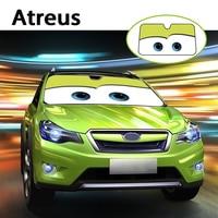 Atreus 1pc Cartoon Car Window Windshield Windscreen Cover Sun Shade For Nissan Qashqai Citroen C4 C5