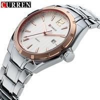 CURREN Mens Watches Top Brand Luxury Hour Date Clock Full Steel Men S Sports Quartz Watch