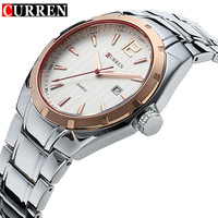 CURREN Mens Watches Top Brand Luxury Hour Date Clock Full Steel Men S Sports Quartz Watch