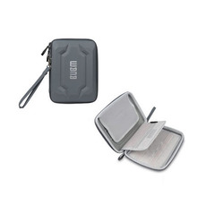 BUBM mini tablet digital receiving bag storage organizer case EVA Gray