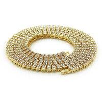 Men Hip Hop Cuban Bracelet Silver Gold Color Bling Rhinestone Iced Out Miami Cuban Chain Link Bracelet Bangle Rock Jewelry