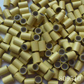 3000 pieces/Lot Silicone Copper Micro Ring 3.4mm & 4.0mm for Hair Extension, Free Shipping
