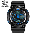 SMAEL Fashion Watch Men S Shock Waterproof LED Outdoor Sport Watches Men's S Style Quartz Analog Digital Watch relogio masculino