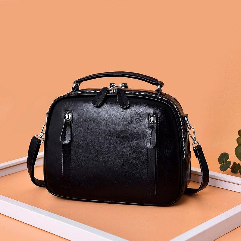 Genuine Leather Women Handbag Large Capacity Tote Bag For Women Shoulder Bag Small Flap Crossbody Bags