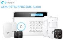 Promotie Etiger 32 Draadloze Zone S4 Gsm Thuis Smart Alarm Pstn Gsm Alarmsysteem Voor Home Security Bescherming Met App controle