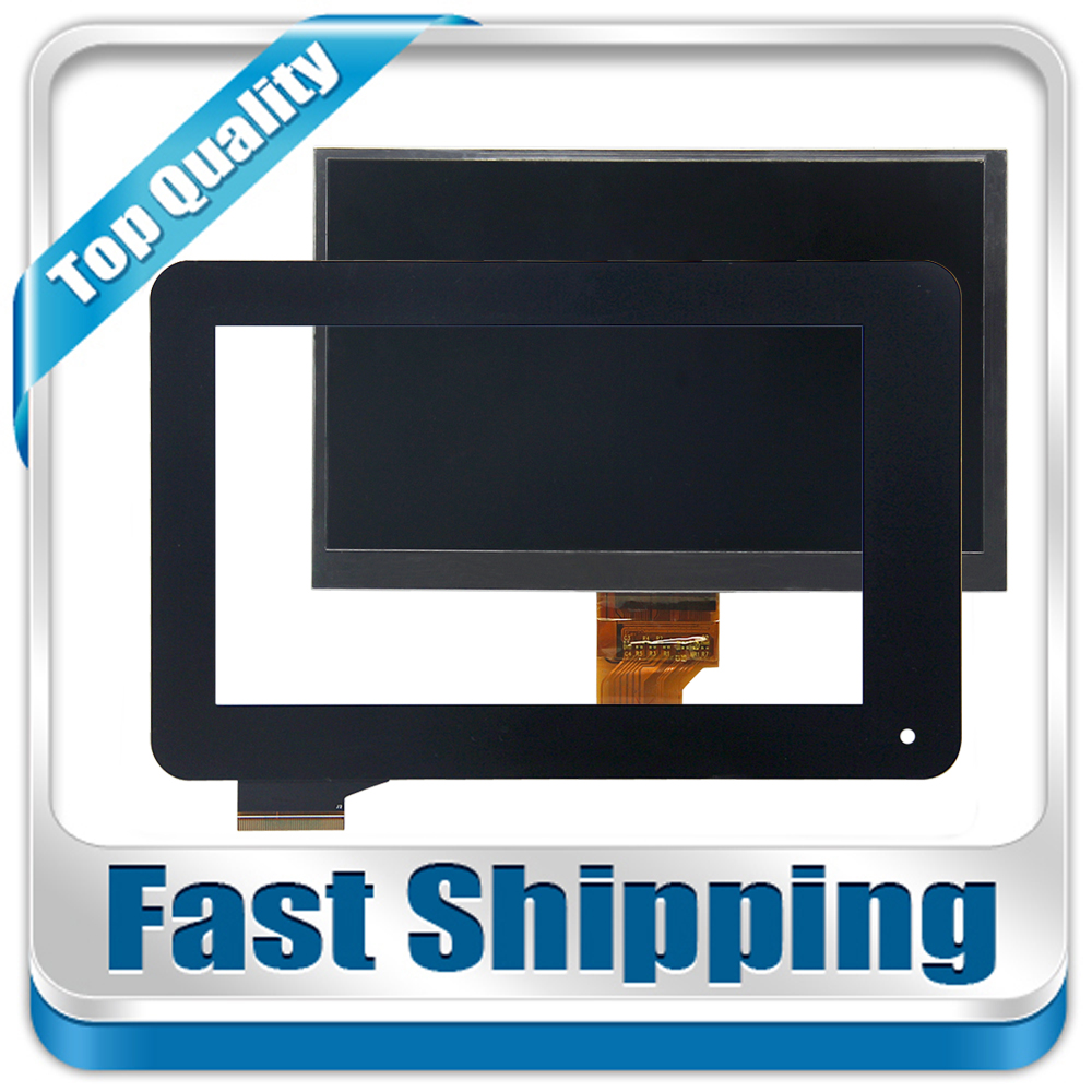 цена на New For Acer Iconia Tab B1-710 B1 710 B1-711 B1 711 Touch Screen Digitizer Glass + LCD Screen Display 7-inch Black
