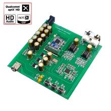 CSR8675 Bluetooth 5.0 บอร์ดถอดรหัส DAC รองรับ APTX HD AK4493 RCA เครื่องขยายเสียงหูฟังลำโพง 24bit DC12V