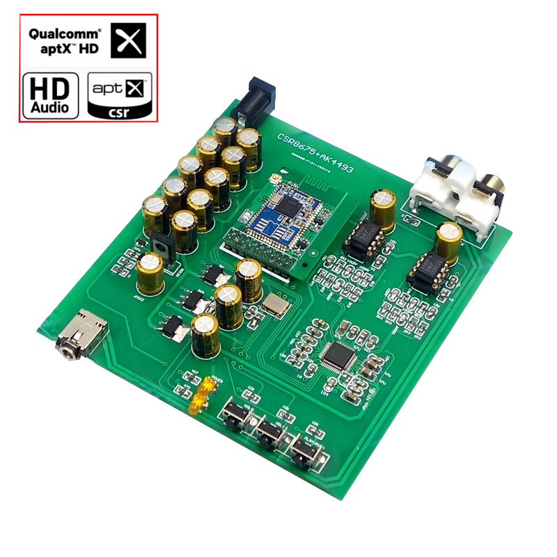 csr8675 bluetooth 5 0 decoder board dac support aptx hd