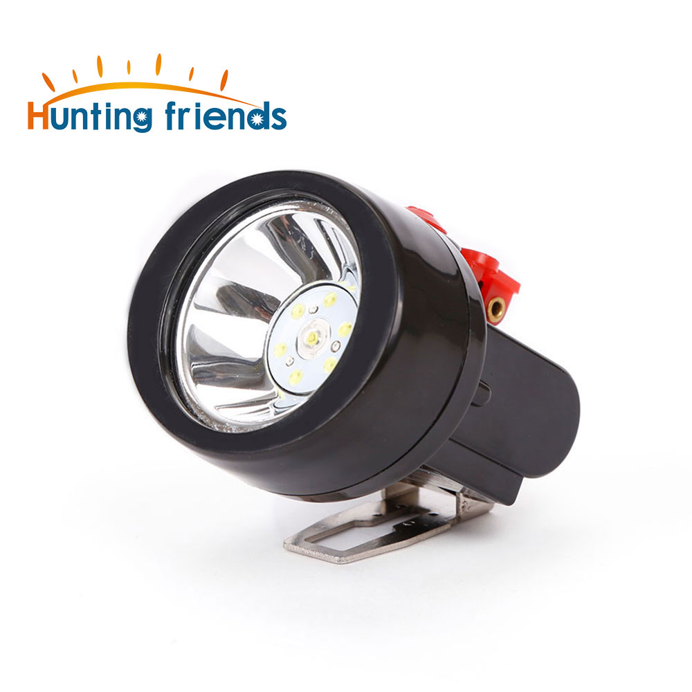 12pcs/lot Rechargeable LED Cordless Mining Cap Light waterproof Miner lamp headlight for outdoor sports