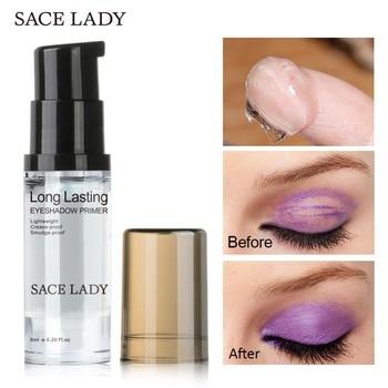 SACE LADY-Base para sombra de ojos, Base de ojos Natural profesional, cosmético a prueba de agua, Primer maquillaje de crema, paleta de larga duración