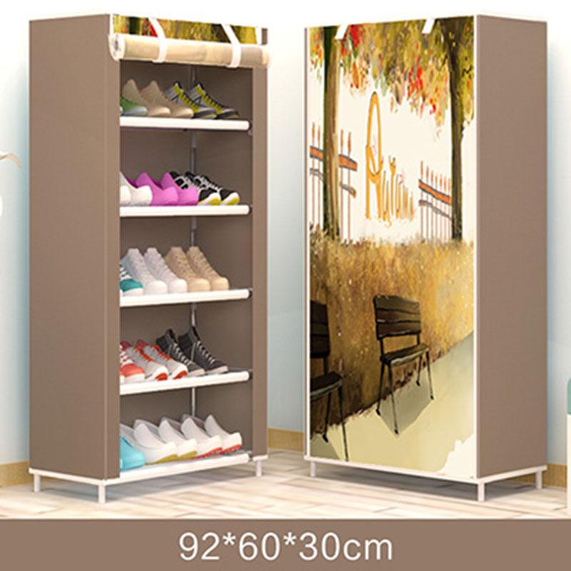 Actionclub moderno Zapatero DIY zapatos de montaje estante organizador en el pasillo zapatos simples estante de pie muebles para el hogar Estrella deseo moderna bola de cristal nórdico luces de mesa Retro Vintage lámpara de escritorio E27 desván para dormitorio junto a la lámpara Oro Negro enchufe de la UE