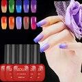 Sioux 5pcs 6ml Nail Gel 24 Colors Thermo Varnish Temperature Change Nail Mood Color UV Polish Gel For Nail Soak Off Gel Polish