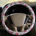 Car Steering Wheel Cover Women flower Cute Covers Steering-wheel For Wheels medium size 38cm  wheel-cvoers