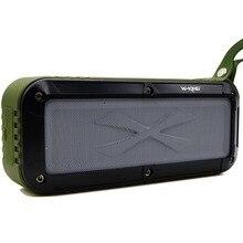 Outdoor Bluetooth Speaker, Portable Fm Radio Waterproof Wireless NFC Bluetooth 4.0 Loud Dual Speakers System Rechargeable