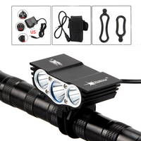Solarstorm 8000Lm Headlamp 4 Mode Bike Light Front Bicycle Headlights Lamp Battery Light Bicycle 3x XM