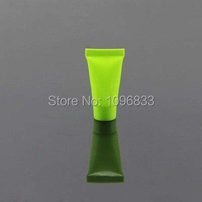 5ML Green Soft Bottles, Cosmetic Soft Tube Bottle, Shampoo Gel Packing Tube, Cream Lotion Tube, Plastic soft Bottle, 100pc/Lot