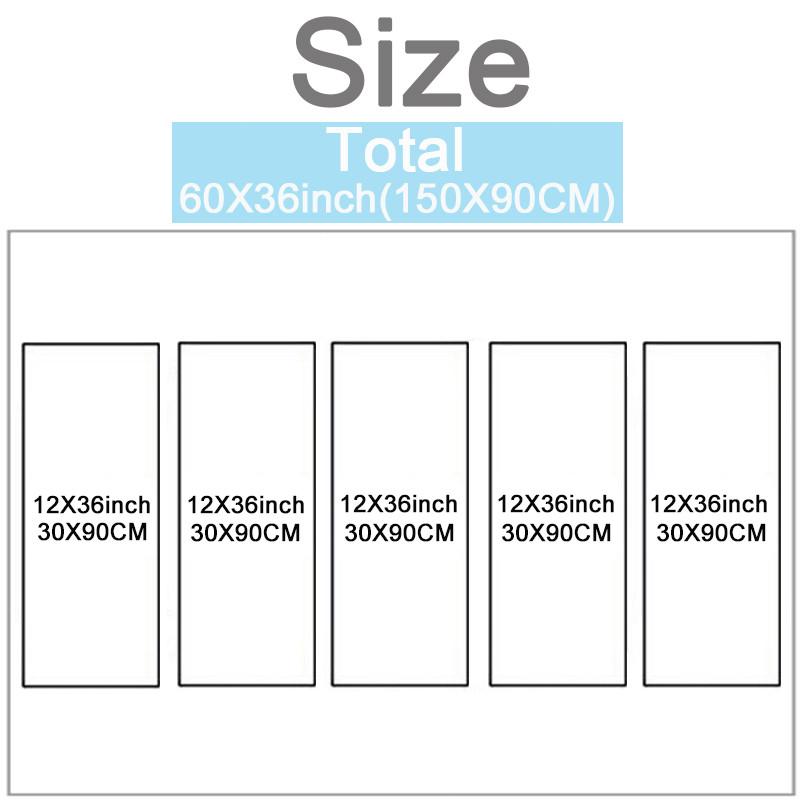 Size 5P 30X90