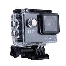 """Mini Micro Câmera de Vídeo Digital De Esportes WI-FI HD 4 K 1080 P 12MP À Prova D' Água 2.0 """"Kit de Viagem kamera ação DV Cam Filmadora Nova"""