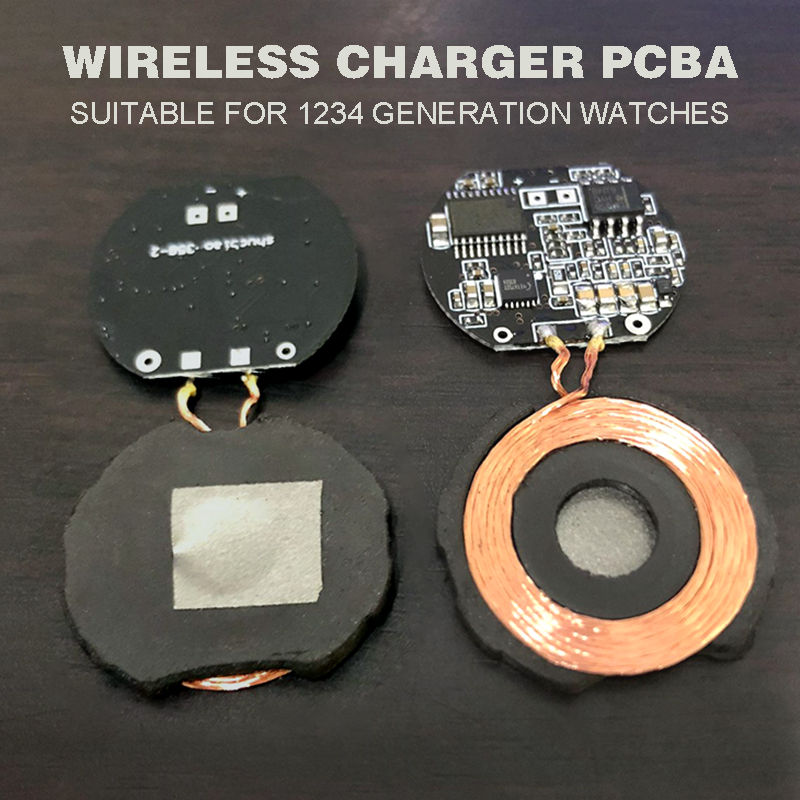 Pohiks DIY PCBA Replac For Apple Watches Portable 5W Qi Wireless Charger PCBA Circuit Board for Apple Watches Wireless Charger in Mobile Phone Chargers from Cellphones Telecommunications