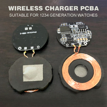 Pohiks DIY PCBA Replac For Apple Watches Portable 5W Qi Wireless Charger Circuit Board for