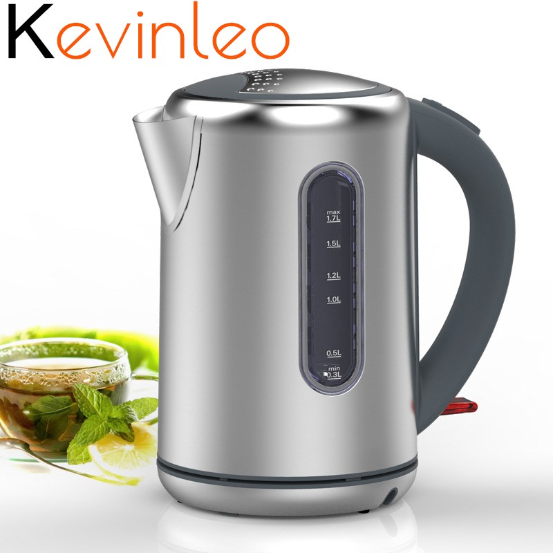 Electric Kettle Stainless Steel Household Electric Water Kettle Large Capacity Hot Water Bottle Automatic Power Off Hot Water