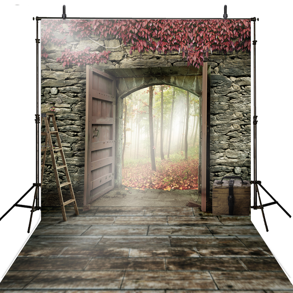 Wall Door Photography Backdrops Vinyl Backdrop For Photography Fundo Fotografico Children Background For Photo Studio Photocall