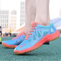 2017 New Badminton Shoes Men And Women Breathable Non Slip Professional Training Tennis Shoes Lightweight Shoes