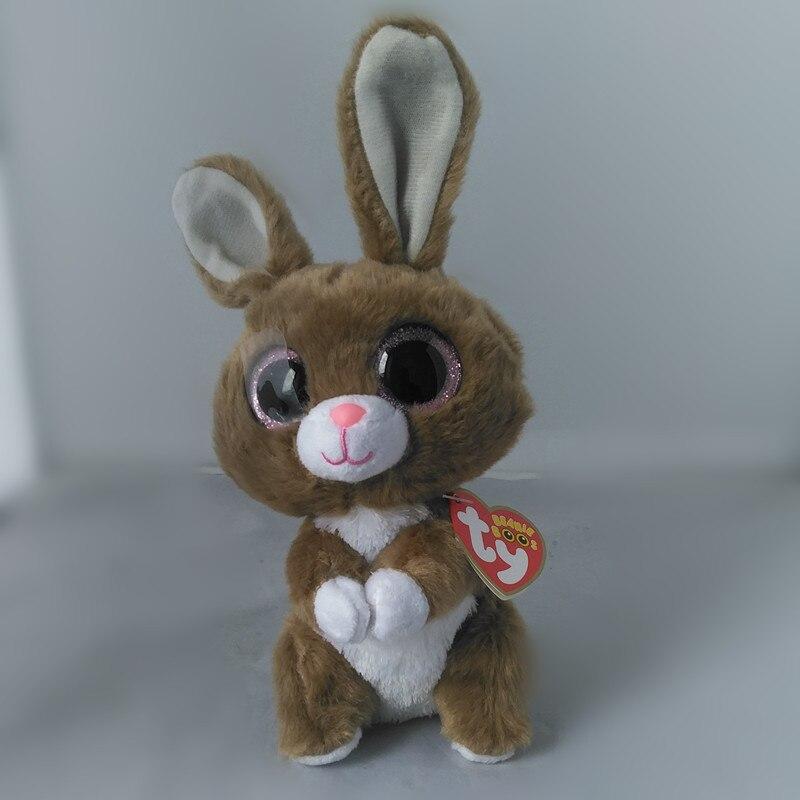 Ty Beanie Боос Twinkle Toes кролика плюшевые 6 шапочка для малышей плюшевые Коллекционная мягкие большие глаза плюшевый кролик игрушки куклы S95