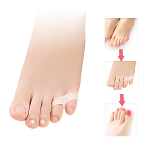 1pair Little toe thumb for daily use Silicone gel Toe bunion guard foot care finger toe separator hallux valgus free shipping