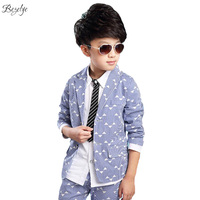Boys Blazer Kids Wedding Boys Clothes Child Elegant Blazer Children for Wedding Boy Suits Jacket Pants 1 Set Boys Blazers Kids