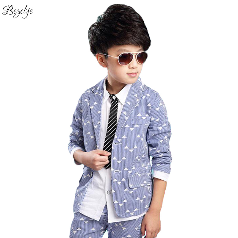 Boys Blazer Kids Wedding Boys Clothes Child Elegant Blazer Children for Wedding Boy Suits Jacket Pants 1 Set Boys Blazers Kids купить в Москве 2019