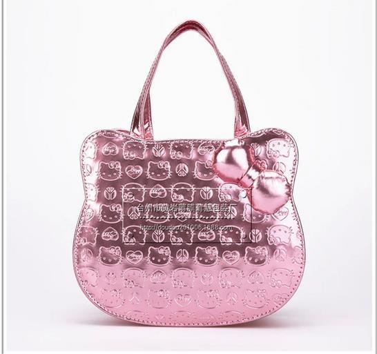 Hello Kitty Handbag Kids Cartoon S Pricness Totes Bags