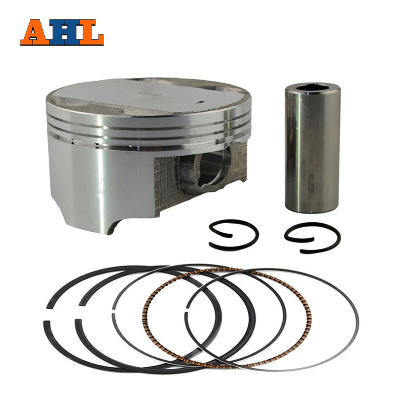 Motorcycle Engine Parts 50 Cylinder Bore Size 48 5mm: AHL Bore Size 73.5mm Motorcycle +50 Piston Set With Pin