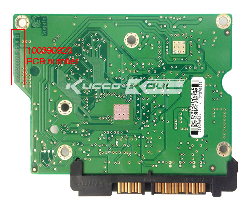hard drive parts PCB logic board printed circuit board 100390920 for Seagate 3.5 SATA hdd data recovery hard drive repair