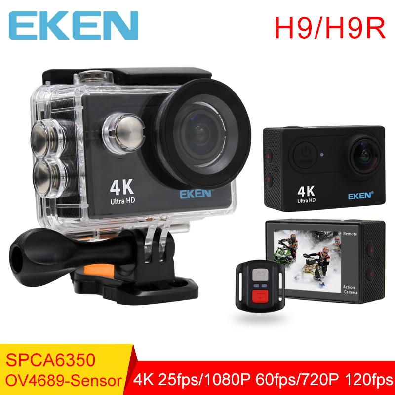 Prix pour D'origine Eken H9/H9R d'action caméra 4 K wifi Ultra HD 1080 p 60fps 170D Aller étanche mini cam pro sport caméra